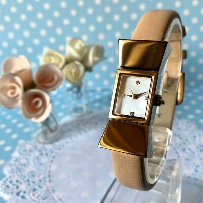 $ CDN186.27 • Buy Kate Spade Watch Carlyle Shell Pink Gold Ladies Used Excellent W/box #1584