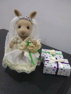 Sylvanian Families Hand Made Clothes BRIDES Dress For Adult • 8£