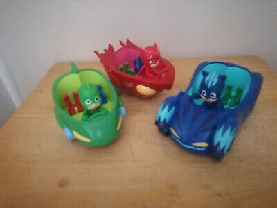 3 X Pj Masks Vehicle & Figures • 0.99£