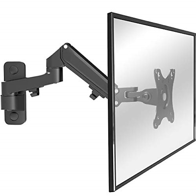 WORLDLIFT Monitor Arm Wall Mount Bracket For PC Monitor & TV - To Fit Screens 17 • 38.79£