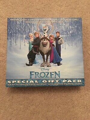 £5 • Buy CD Box Set: Frozen : Special Gift Pack : Sealed 3 CDs 5 Cards, Stickers & Poster