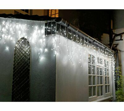 Home 960 Icicle Lights - Bright White - 15m Length • 54.99£