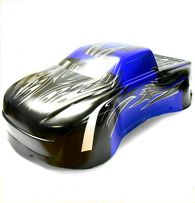 BS810-031B RC 1/8 Scale Monster Truck Body Shell Cover Blue • 22.99£
