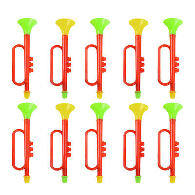 10pcs Kids Trumpet Toys Plastic Trumpet Toy Funny Noise Making Tools Cheering Pr • 8.81£