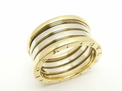 AU3293.32 • Buy Bvlgari K18Yg/Wg B-Zero1 Be Zero One Quad Band Ginza Limited Ring 61