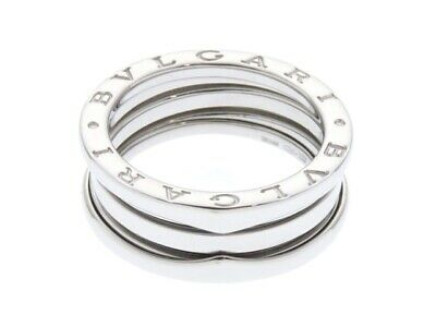 AU2072.98 • Buy Bvlgari B-Zero1 S Size White Gold Ring Wg 9.2G No. 56 436 Second Hand