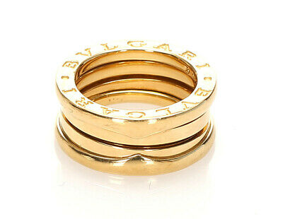AU1549.31 • Buy Bvlgari B-Zero1 Be Zero One Gold K18 Yellow Ring Women Number 7 Second