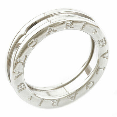 AU1319.71 • Buy Second Hand Bvlgari K18Wg Ring B.Zero1 Be Zero One B.Zero-1 52 Silver