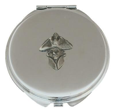 Nelson Compact Mirror Handbag Gift With Free Engraving 508 • 12.99£