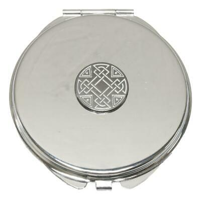 Celtic Knot Compact Mirror Handbag Gift With Free Engraving 68 • 12.99£