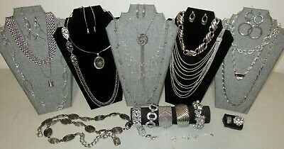 $ CDN18.97 • Buy Huge Vintage - Now Jewelry Lot All Wearable Silver Multi Color Estate RM10