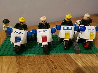 LEGO City Police Motorcycle Job Lot X4 Bikes With Mini Figures • 1.10£