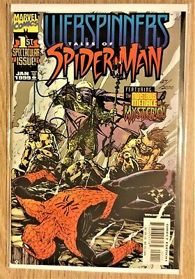Webspinners Tales Of Spider Man #1 (NM Plus) Dynamic Forces Signed Variant. • 7£
