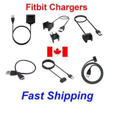 AU6.01 • Buy Fitbit Charger USB Charging Cable For Charge HR Charge 2/3/4 Inspire Blaze Ionic