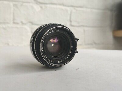 Leica 35mm F2 Summicron V3 M Mount Lens Leitz Version 3  • 999£