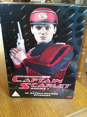 Gerry Anderson's New Captain Scarlet: Complete Series 1 DVD (2005) Gerry • 5£