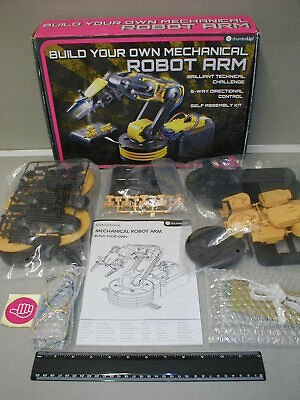 Build Your Own Robot Arm Construction Kit By Thumbs Up - New / Contents Sealed. • 20£