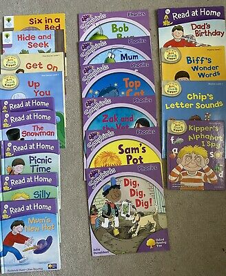 Oxford Reading Scheme StageLevel 1. Age 3/4/5 Vgc 19 Books Phonics Sounds Words • 20£