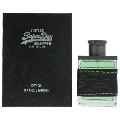 Superdry Vintage Dry Oil Cologne 100ml • 33.50£