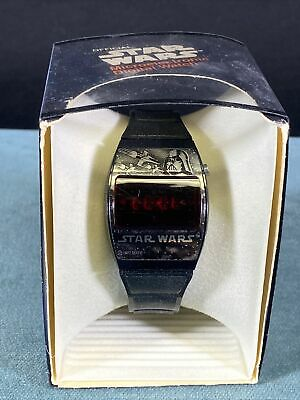 $ CDN25.30 • Buy 1977 Star Wars Vintage Texas Instruments Microelectronic Digital Watch In Box