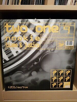 Nookie Blame & Justice - Two On One Issue 9 - Moving Shadow 201-9 - Rare • 25£