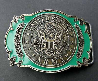 Us Army Seal Insignia Belt Buckle 3.1 Inches • 12.03£
