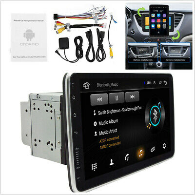 $186.20 • Buy 10.1in Dual DIN Car MP5 Player FM Stereo Radio Quad Core 1+16G GPS WiFi/3G/4G