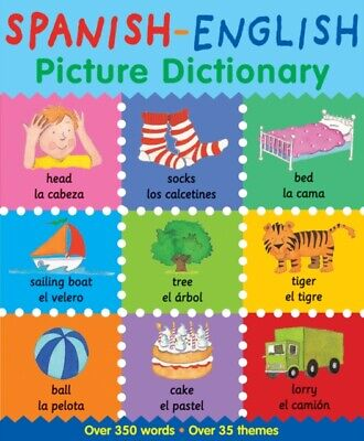 Spanish/english Picture Dictionary • 7.53£