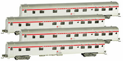 AU135.98 • Buy Micro-Trains MTL Z-Scale 83ft Lightweight Sleeper Cars Southern Pacific/SP - 4Pk