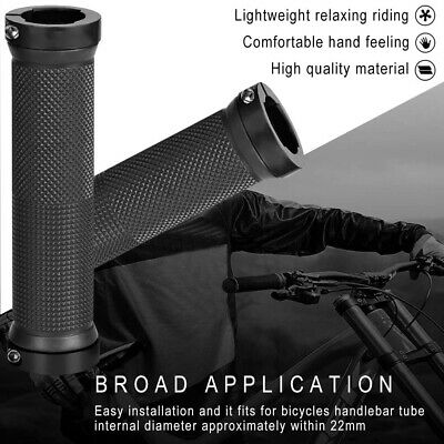 AU11.19 • Buy 1Pair Bike Handlebar Grips Rubber Comfortable Bicycle Handle Grip For MTB/BMX