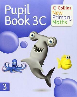 Collins New Primary Maths - Pupil Book 3C, , Good Condition Book, ISBN 978000722 • 4.25£