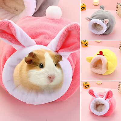 £6.49 • Buy Hamster House Guinea Pig Accessories Hamster Cotton Nest Winter Warm Cute Soft