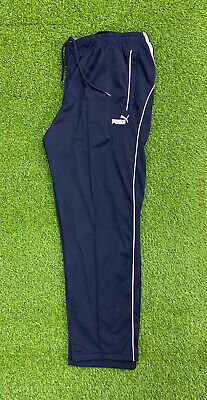 Puma Mens Blue Tracksuit Bottoms With Pockets Size Uk XL • 15.99£