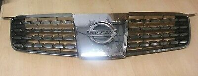 $45 • Buy Nissan Maxima Chrome Wraped Plastic Front Grille Fits 2004 2005 & 2006 Cars OEM