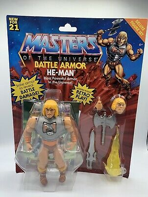 $39.99 • Buy Masters Of The Universe Origins Battle Armor He-man In Hand!