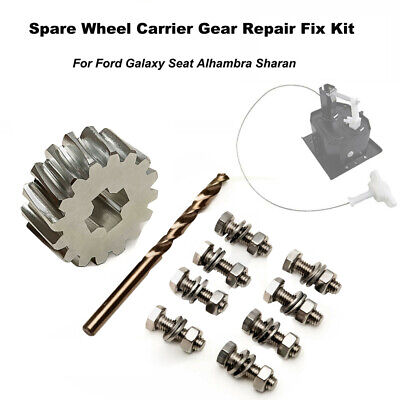 Suit For  Ford Galaxy Seat Sharan VW Spare Wheel Carrier Gear Fix Repair Kit; • 21.14£
