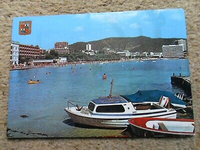 ..postcard Of Mallorca,palma Nove,spain Posted.2 Stamps.see The Boats.  • 0.90£