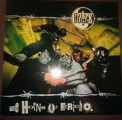 Hijack - Horns Of Jericho Vinyl Record 1991 Old Skool UK Hip Hop • 18£