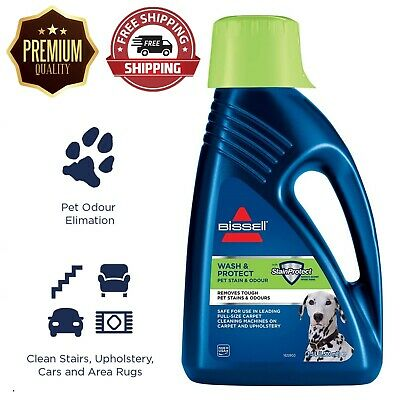 £21.99 • Buy Bissel PET CARPET SHAMPOO Cleaner Wash And Protect Fragrance Bleach-Free 1.5L