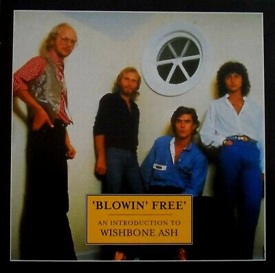 WISHBONE ASH - BLOWIN' FREE (2000 11 TRACK CD COMPILATION) VGC *Ideal Gift* • 5.99£