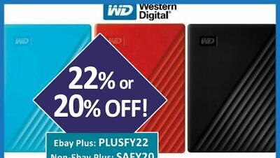 AU251 • Buy WD 4TB 2TB 1TB My Passport Portable External Hard Drive 2.5  USB HDD Elements SE