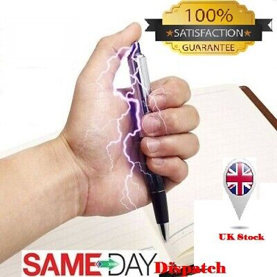 Electric Shock Prank Pen Utility Gadget Gag Novelty Practical Joke Funny Trick U • 2.09£