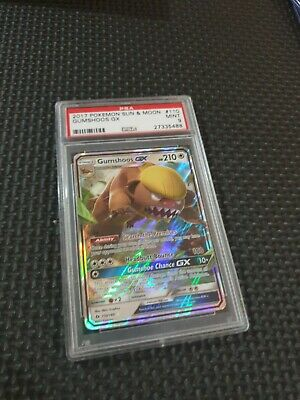 AU20.50 • Buy Pokemon Card GUMSHOOS GX   Ultra Rare  110/149  SUN And MOON Mint Psa 9