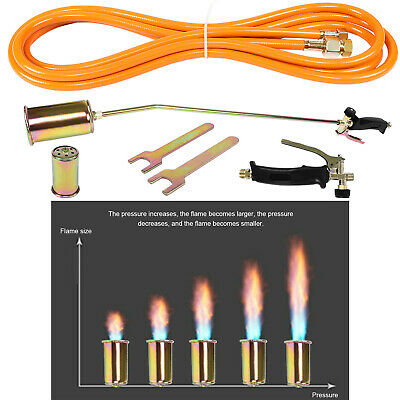 £35.99 • Buy Pro Propane Gas Roofing Torch For Area Work On Felt Bitumen Roofing