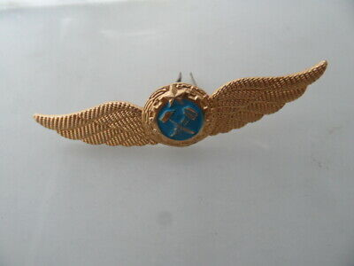 Russian USSR Army Military Imperial Eagle Ushanka Hat Metal Pin Badge 004 • 3£
