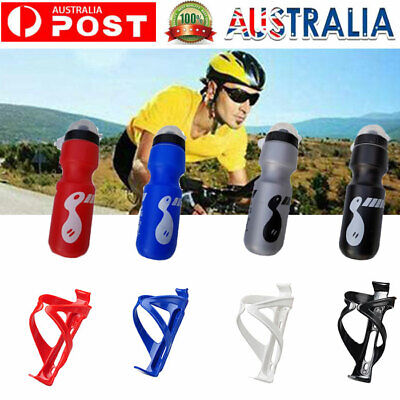 AU10.99 • Buy 750ML Bicycle Bottle And Holder Bike Drink Rack Mountain Bike Water Bottle Cage
