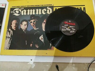 The Damned - The Best Of The Damned Original 1981 Vinyl LP (DAM1) • 10£