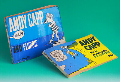 2 X Vintage  Andy Capp Cartoons By Reg Smythe Books  Mirror Group  • 4£