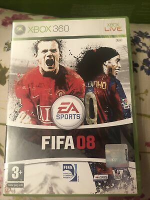 FIFA 08 (Microsoft Xbox 360, 2007) - European Version • 4£