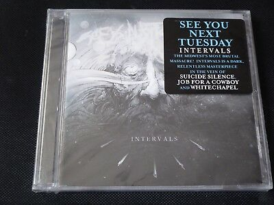 £2.09 • Buy See You Next Tuesday - Intervals NEW CD 4FansOf Suicide Silence Job For A Cowboy